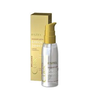 ESTEL / Curex BRILLIANCE, Жидкий шёлк БЛЕСК-ЭФФЕКТ для всех типов волос (100мл)